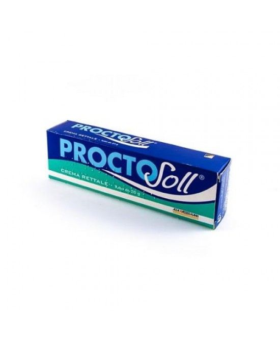 ProctoSoll Crema Rettale 20g - Zfarmacia