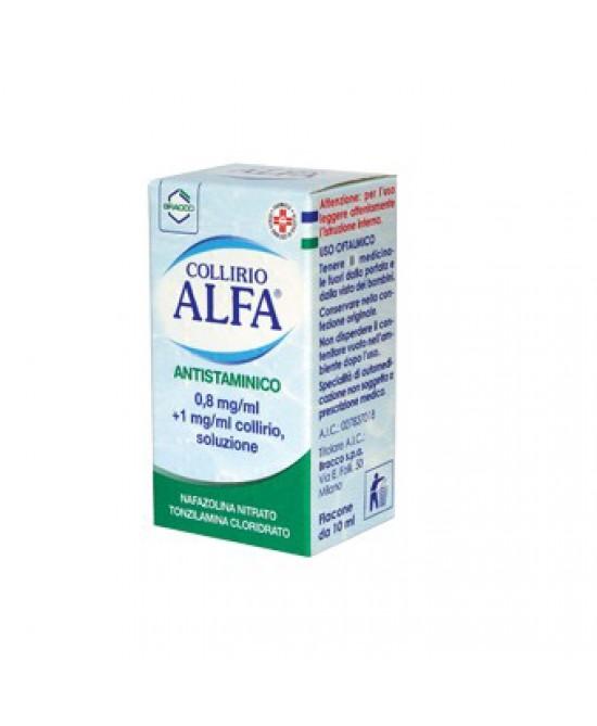 Alfa Collirio Antistaminico 10 ml - Farmalilla
