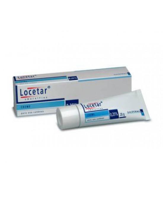 LOCETAR*DERM CREMA 20G 0,25% - Farmapage.it
