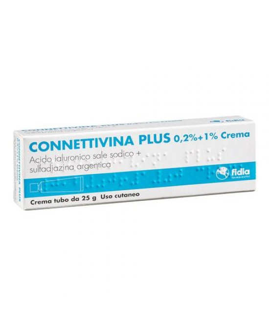 Fidia Connettivina Plus 0,2% + 1% Crema 25g - Spacefarma.it