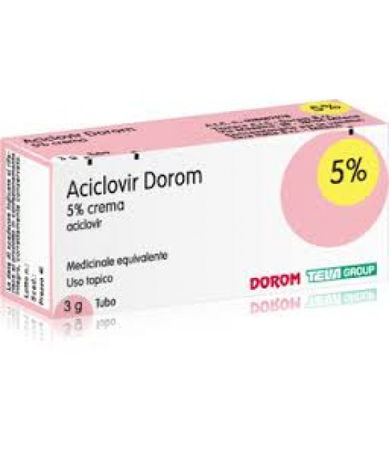Aciclovir Dorom 5% Crema 3g - Farmaunclick.it