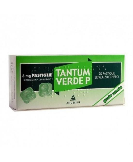 Tantum Verde P Menta 3mg Benzidamina cloridrato 20 Pastiglie offerta