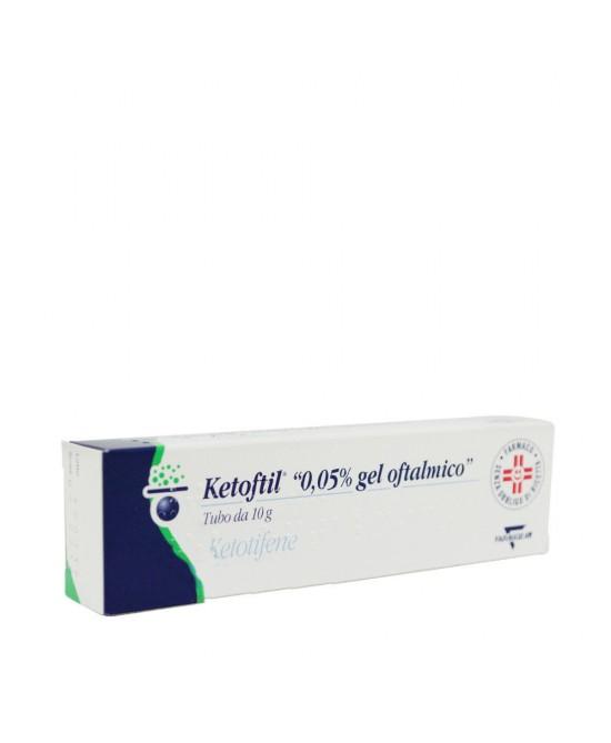 Ketoftil 0.05% Gel Oftalmico 10g - La tua farmacia online