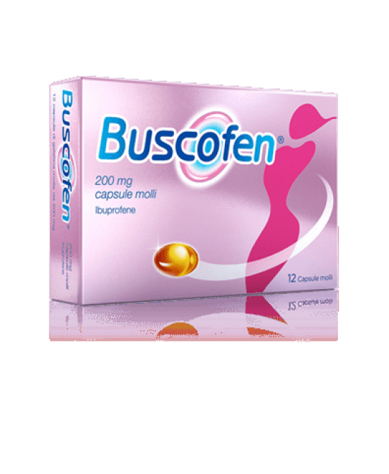 Buscofen 12 Capsule Molli 200mg - Farmafamily.it