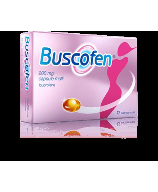 Buscofen 12 Capsule Molli 200mg - Farmastar.it