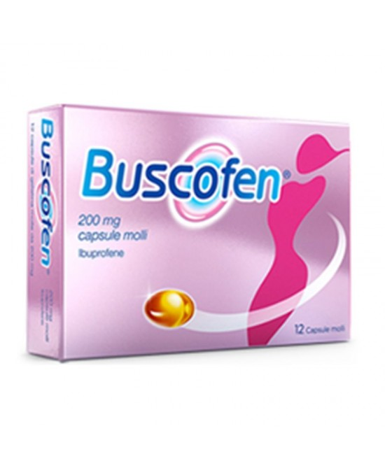 Buscofen 200mg 24 Capsule Molli - Farmawing