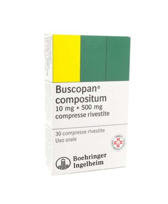 Buscopan Compositum 20 Compresse Rivestite - Farmastar.it