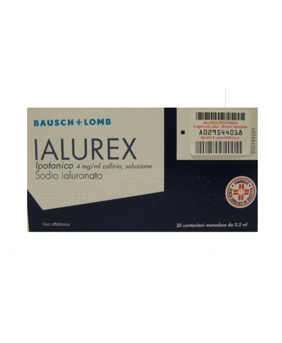 Ialurex Ipotonico 0,2 ml 0,4 % Collirio 30 Monodose - Farmastop