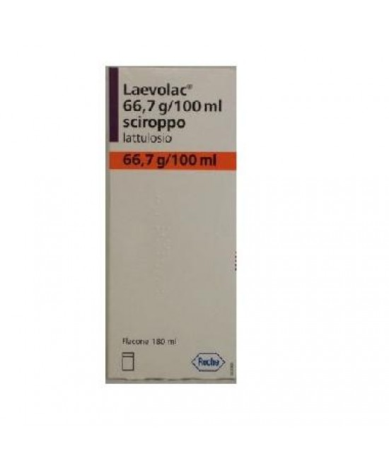 Laevolac 66,7g/100ml Lattulosio Sciroppo  180ml - Farmastar.it