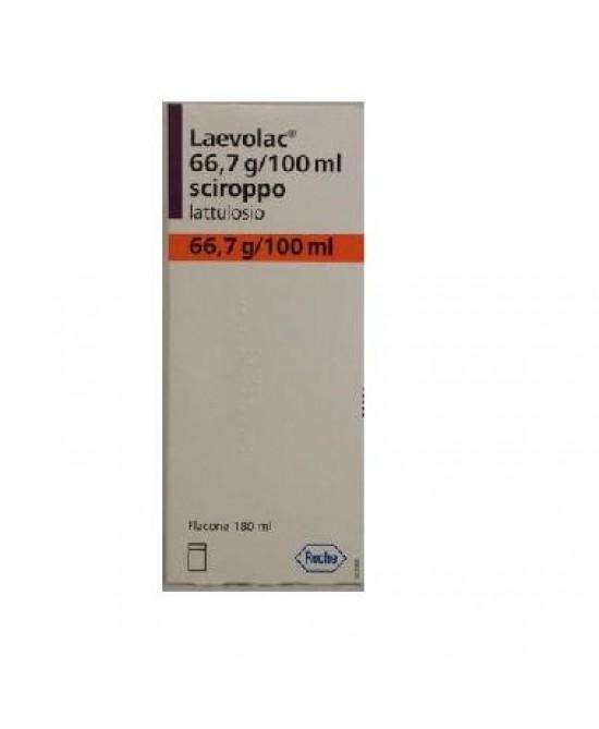 Laevolac 66,7g/100ml Lattulosio Sciroppo 180ml - latuafarmaciaonline.it