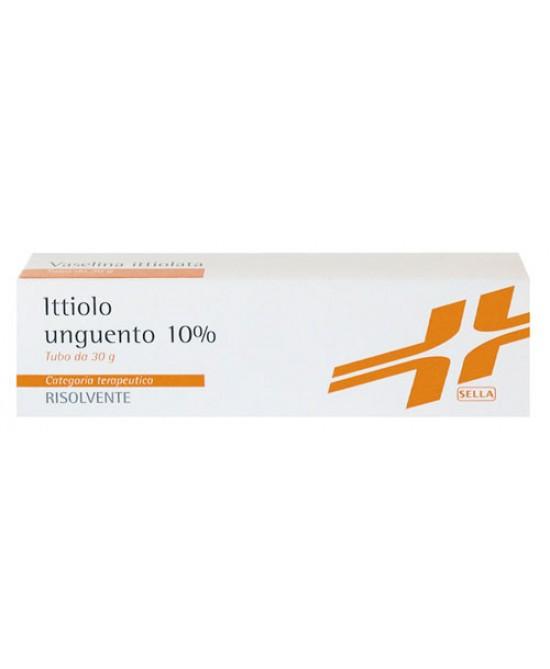 Ictammolo Sella 10% Ammonio solfoittiolato Unguento 30g offerta