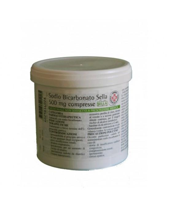 Sodio Bicarbonato Sella 500 Mg Antiacido 50 Compresse offerta