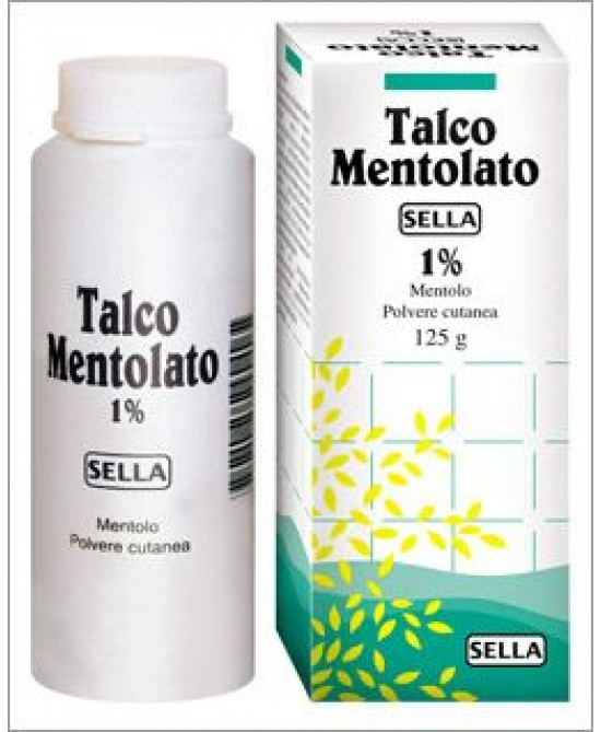 Mentolo SELLA 1%  Polvere Cutanea 100g - Spacefarma.it