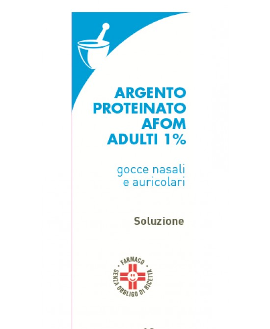 Argento Proteinato AFOM 1% Gocce 10ml - Farmaciaempatica.it