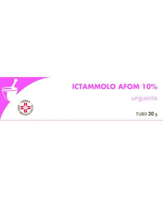 Ictammolo AFOM 10% Ittiolo Unguento 30g - FARMAPRIME