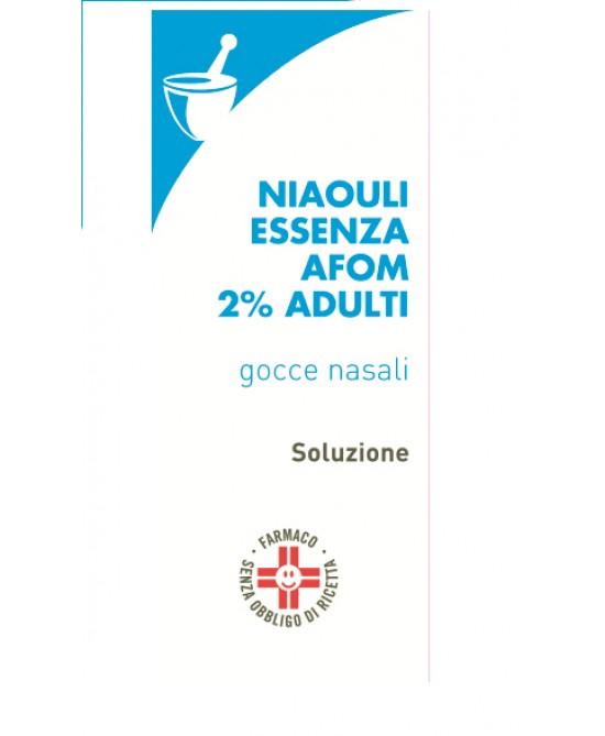 Niaouli Essenza AFOM 2% Adulti Gocce Nasali 20g - Parafarmacia la Fattoria della Salute S.n.c. di Delfini Dott.ssa Giulia e Marra Dott.ssa Michela