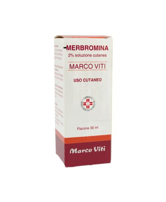 Merbromina Marco Viti 2% Soluzione 30ml - Farmaciacarpediem.it