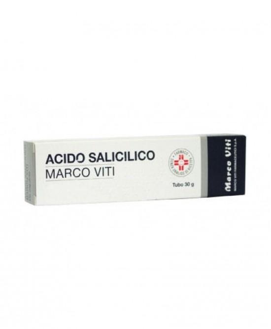 Acido Salicilico Marco Viti2% Unguento Dermatologico 30g - Zfarmacia