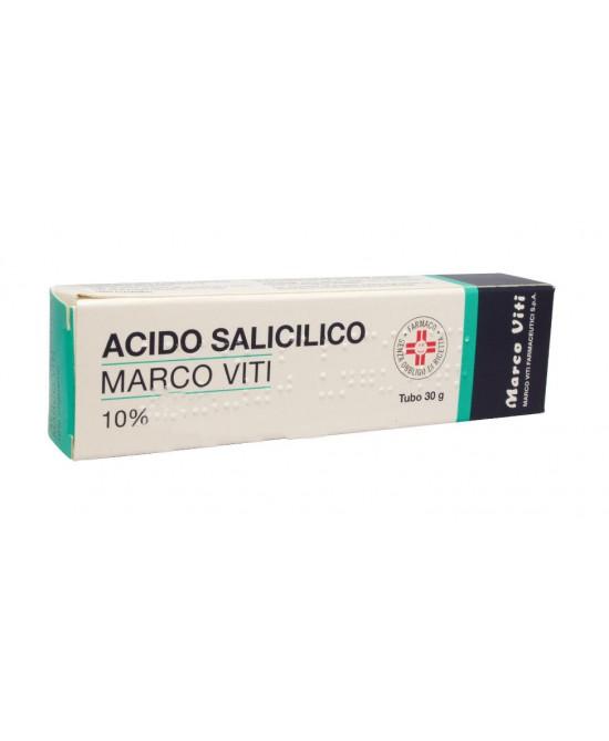 Acido Salicilico Marco Viti 10% Unguento 30 g - Zfarmacia