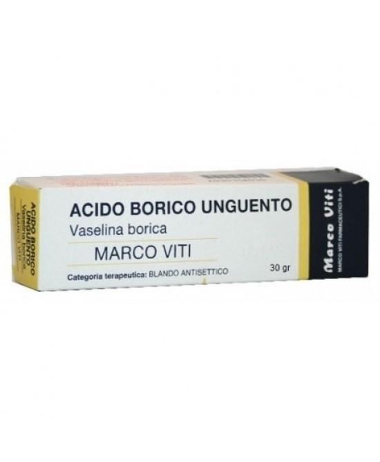 Vaselina Borica Marco VIti 3% Unguento 30g - Zfarmacia