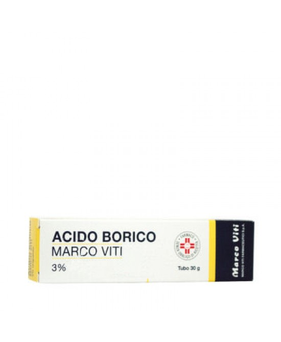Acido Borico Marco Viti3% Unguento Dermatologico 50g - Parafarmacia la Fattoria della Salute S.n.c. di Delfini Dott.ssa Giulia e Marra Dott.ssa Michela