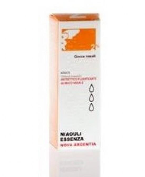 Argento Proteinato NOVA ARGENTIA 2% Gocce Nasali E Auricolari 10ml - Farmaci.me