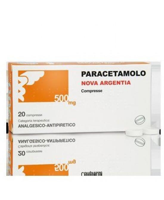 Paracetamolo Nova Argentia 500mg 20 Compresse - Farmajoy