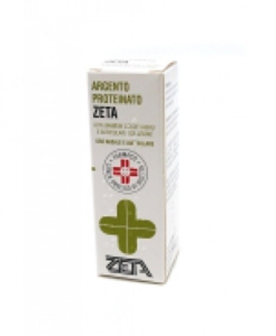 Argento Proteinato ZETA1% Gocce Nasali E Auricolari10ml - Farmacia 33