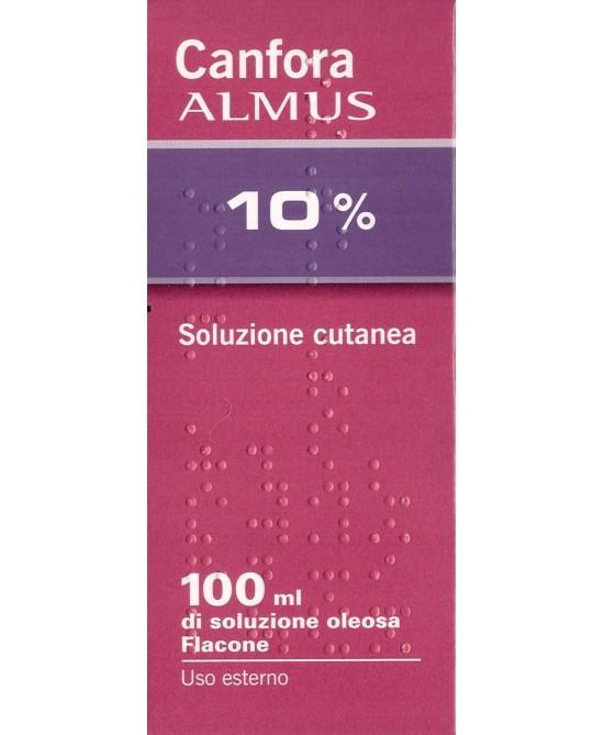 Canfora ALMUS 10% Soluzione Cutanea Oleosa 100ml - Farmafamily.it