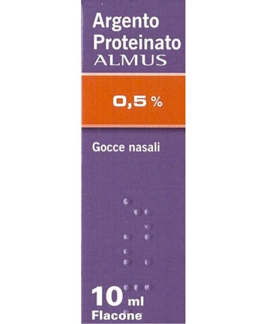 Argento Proteinato ALMUS 0,5% 10ml - FARMAEMPORIO