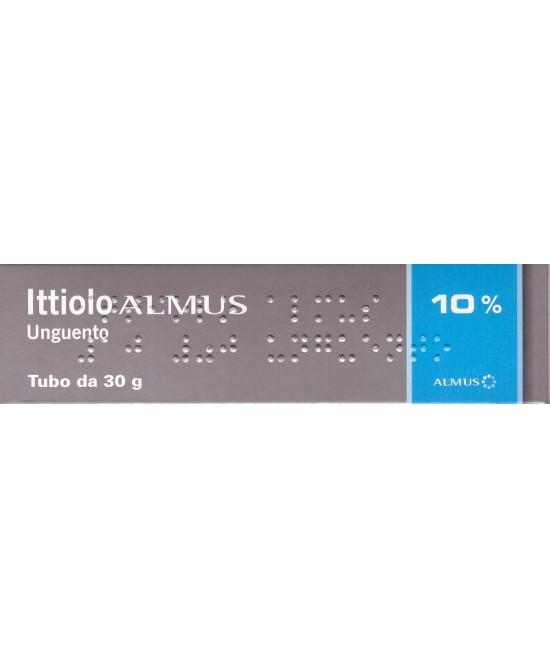 Ictammolo ALMUS 10% Ittiolo Unguento 30g - Farmacia 33