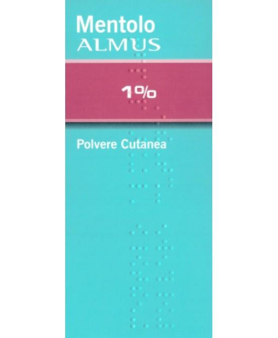 Mentolo ALMUS 1% Polvere Cutanea 100g - Farmastop