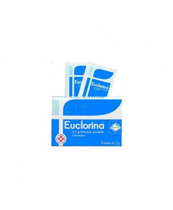 Bracco Euclorina Polvere Solubile Disinfettante 10 Bustine 2,5 g - Parafarmacia la Fattoria della Salute S.n.c. di Delfini Dott.ssa Giulia e Marra Dott.ssa Michela