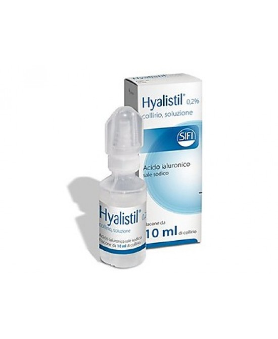 Hyalistil 0,2% COllirio 10ml -