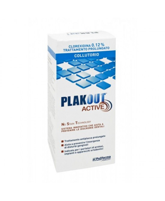 Plakout 0,12% Colluttorio 150ml - Farmastar.it