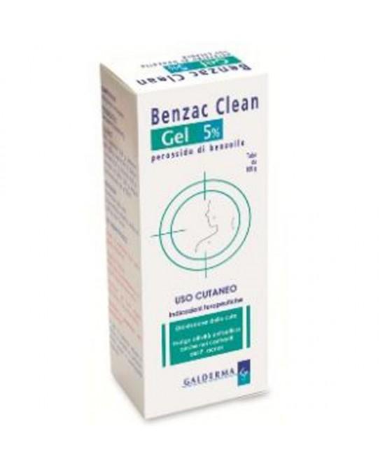 Galderma Benzac Clean 5% Gel Disinfezione Della Cute Tubo 100g - Farmia.it