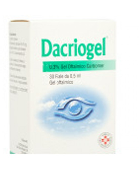 DACRIOGEL*GEL 30F 0,5ML 0,3% - Spacefarma.it