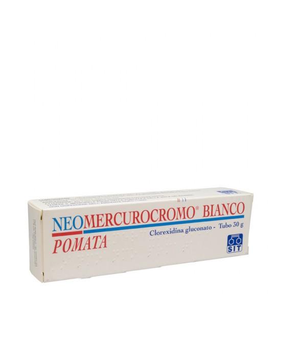 NEOMERCUROCROMO BIANCO*POM 30G - Farmaciacarpediem.it