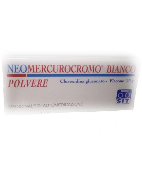 Neomercurocromo Bianco  Polvere 20g - Farmia.it