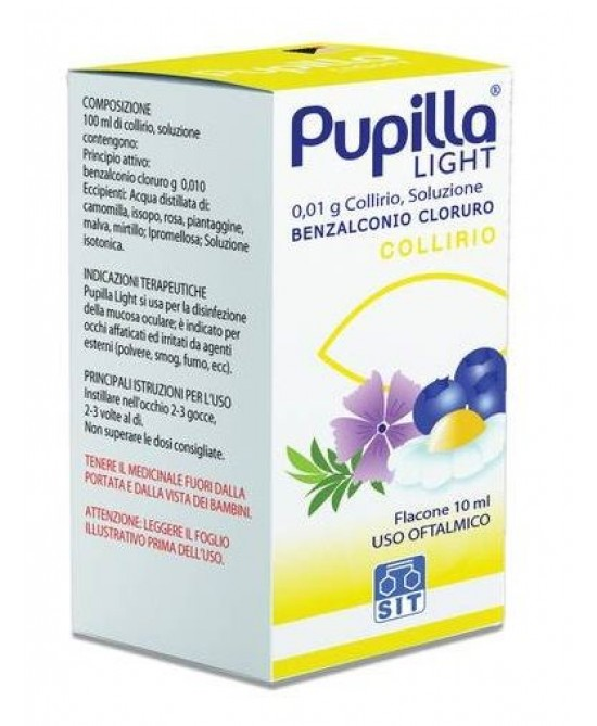 Pupilla Light 0.01% Collirio 10ml - Farmapage.it