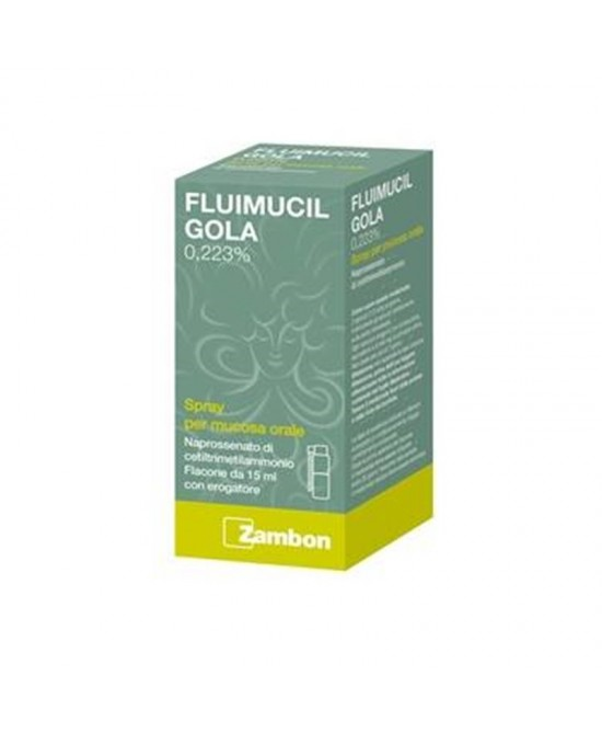 Zambon Fluimucil Gola Spray 15ml - Farmawing