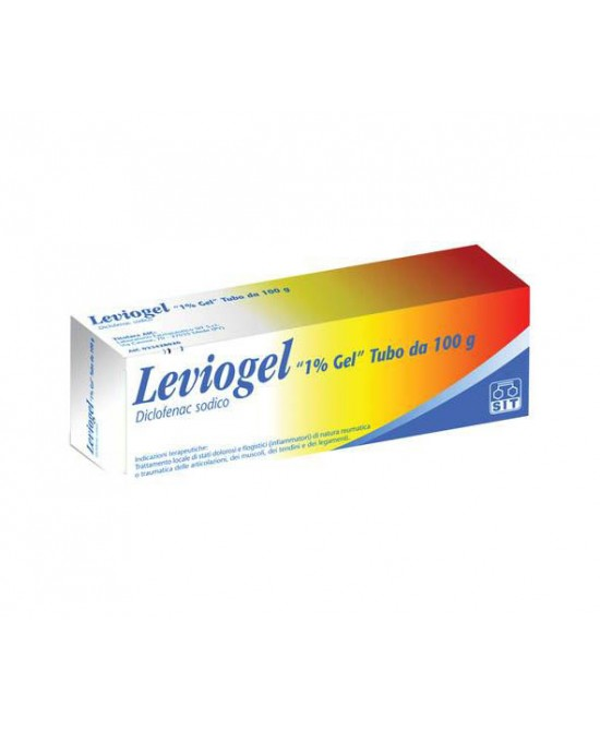 Leviogel 1% Gel Antinfiammatorio Antidolorifico 100g - Farmafamily.it