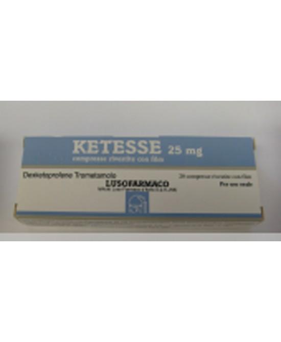 Ketesse 25 mg Dexketoprofene Antidolorifico 20 Compresse Rivestite offerta