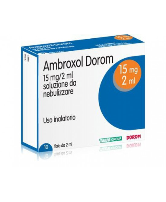 Ambroxol Dorom 15mg Soluzione Da Nebulizzare 10 Fiale Da 2ml - FARMAPRIME