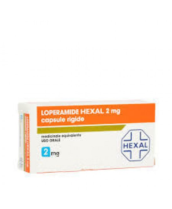 LOPERAMIDE HEXAL*8CPS 2MG - Spacefarma.it