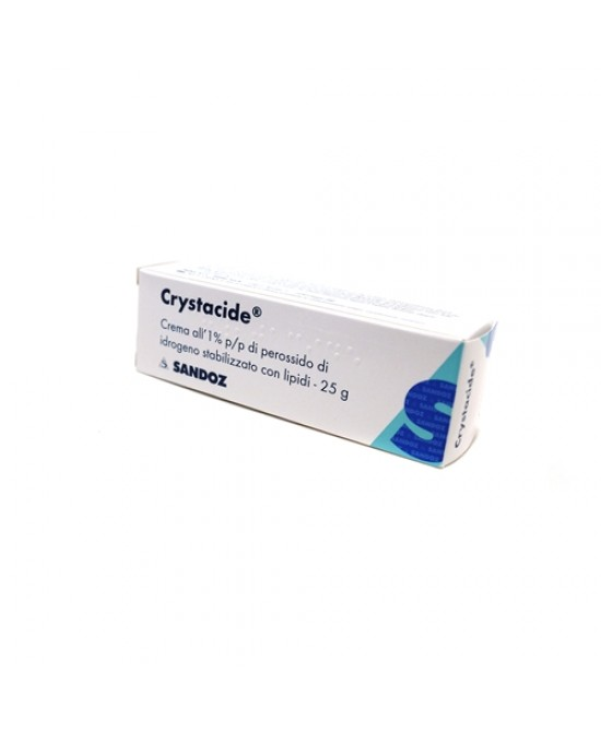 Sandoz Crystacide 1% Crema Dermatologica 25 g - Farmafamily.it