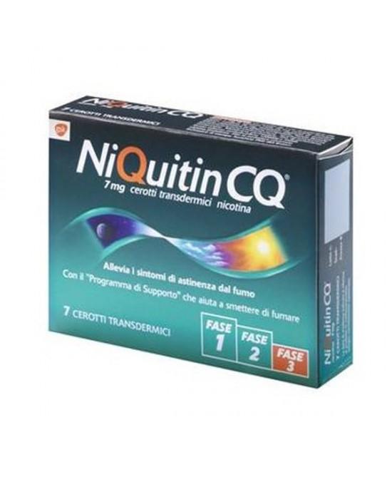 NiQuitin Fase 3 Nicotina 7 mg/24 h 7 Cerotti Transdermici offerta