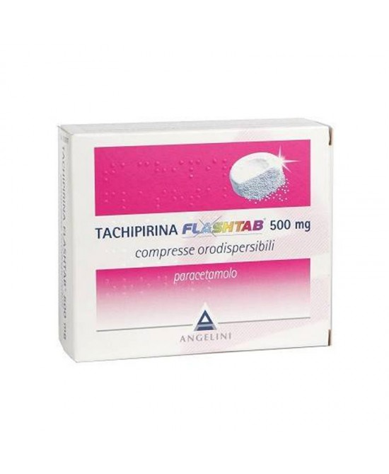 Tachipirina Flashtab 500mg  16 Compresse - Farmaciaempatica.it
