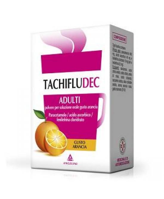 Tachifludec Adulti  Polvere Per Soluzione Orale Arancia 10 Bustine - Farmacia 33