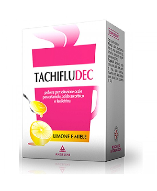 Tachifludec Limone Miele 16 Bustine - La tua farmacia online